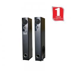Hotpoint 2.0 Active Speakers Tallboy Bluetooth Subwoofer (HA24020BT) - 240W Black