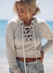 2017 autumn and winter new gray sweater gray S
