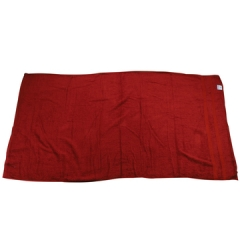 Soft Fluffy Bathroom Towels Red 80cm*160cm