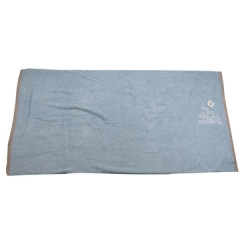 Soft Fluffy Bathroom Towels Blue 80cm*160cm
