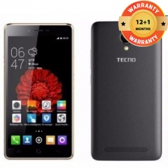 TECNO L8 Lite Smartphone - 16GB - 1GB RAM - 8MP Camera - Dual SIM black