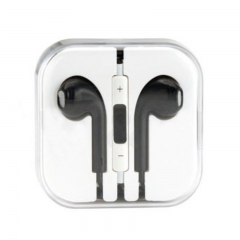 In-Ear Headphone Earphones Earpods with Mic&Volume Control For INFINIX DOOGEE CUBOT Huawei iPhone Black