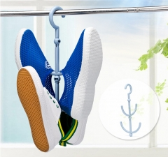 Durable 2-Layer 360 Degree Rotatable Rotating Racks Hanging Shoe Rack Multifunctional Organizer Green