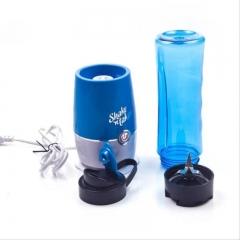 Shake n Take 3(2 bottles) Portable Mini Electric Juicer Mutifunctional Juice Extractor Blender Blue