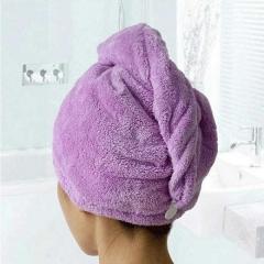 Bathroom Hair Hat Shower Hair Hat Dry Hair Hat Bath Hair Drying Microfiber Fabric Bath Cloth Towels
