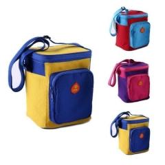 Heat-resistant lunch box warmer bag color random