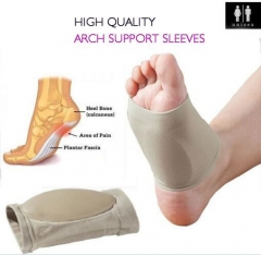 Foot Care Plantar Fasciitis Arch Support Sleeve Cushion Heel Spurs Neuromas Flat Feet Orthopedic Pad as picture