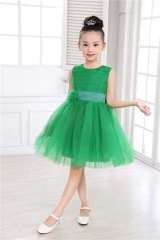Kids Girl Pageant Clothes Flower Girl Princess Dress style 1 100