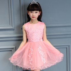 Infant Baby Tutu Girl Dress Birthday Party Gown pink 100