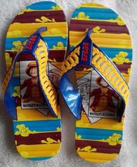 Men's straw slippers