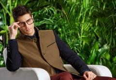 Men 's windbreaker gentry Slim England business long coat windbreaker male stitching khaki m