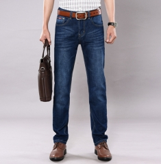 Men 's Straight Slim stretch jeans business high - end fashion men' s trousers as the picture 28