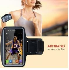 Outdoor Running Sports Armband Waterproof Case Key Pocket Black 4.7inch black 4.7inch