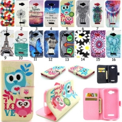 For Nokia Mobile Phone Cover Fashion Painted Leather Flip Cell Phone Shell 16 nokia n830 1 one size