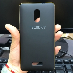 360 Full Protect Phone Cover black For Tecno C7