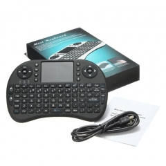 Mini USB Wireless Keyboard Touchpad Air Mouse Fly Mouse Remote Control for Phone  TV Box PC Pad Black 15cm*10cm*2cm