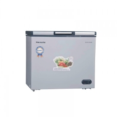 Polystar Chest Freezer With Top Glass Single Door-PCV370LGR silver 860mm