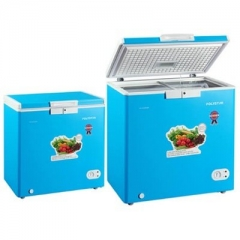 Polystar Chest Freezer Single Door-PVCF-249LBL grey 887mm