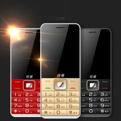 Newsmy X6 Mobile phone mobile Big screen Old man Loudly Long standby Straight Old cell phone black