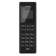Original A1 bluetooth 3.0 FM MP3 voice change mobile cell phone bluetooth dialer pocket mini call black
