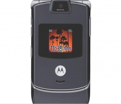 Original Motorola RAZR V3 Mobile phone Refurbished unlocked black