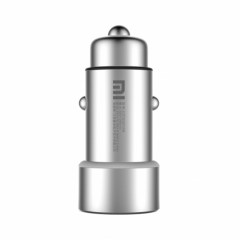 Original Car Charger USB 5V/3.6A Quick Charge Metal Apply to Android IOS System Mobile Phones Tablet silver #