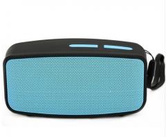 Altavoz Wireless Bluetooth Speakers Center Portable Handsfree Speaker Music Sound Box With FM Radio blue 5v #01