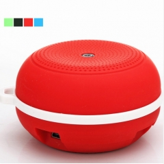 Portable Wireless Bluetooth Speaker Outdoor Music Receiver Bluetooth Reproductor Built-in MIC red 5v #01