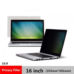 16 inch Privacy Filter Screens Protective film for 16:9 Laptop 355mm*201mm