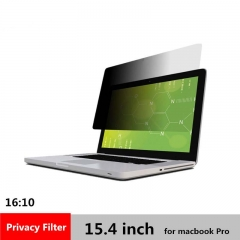 15.4 inch Privacy filter Screen Protector film for 16:10 MacBook Pro Laptop 332mm*207mm
