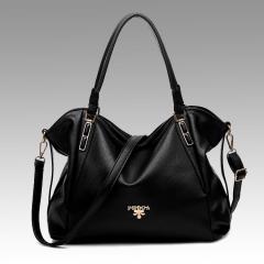 Hotsale Ladies handbags fashionable handbags simple elegant nobel style classic design shoulder bag black one size