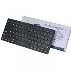 Bluetooth Keyboard Ultra thin Portable Mini wireless Keyboard  Flat Multimedia Computer Keyboard black one size