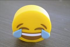 8800mAh Power Bank Cute Cartoon Smile Powerbank Universal Mobile Phone Charger smile 8800mah