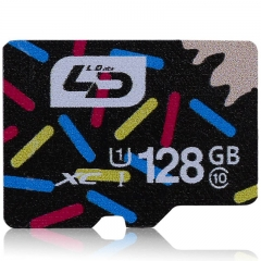 LD  Micro SD Memory Card Class 10 40MB/s Storage Device 128G Class 10 as the picture