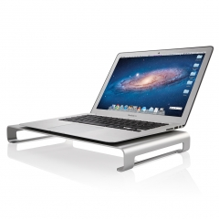 Suaoki Monitor Riser Premium Aluminum Alloy Unibody Monitor Stand for PC, iMacs, Macbooks and Laptop silver one size