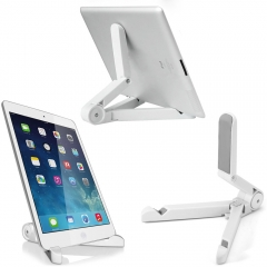 Portable Android Tablet Holder Fold-up Stand for 4 - 14 inch Tablet PC White One Size