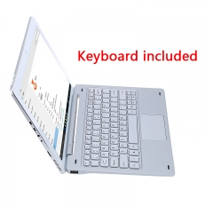 Teclast Tbook 16 Pro 2 in 1 Tablet PC Windows 10 + Android 5.1 11.6 inch IPS Screen with Keyboard Silver One Size
