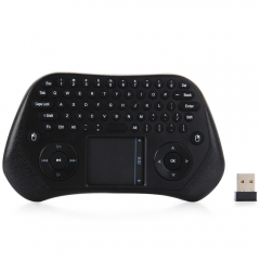 MEASY GP800 2.4GHz Wireless Touchpad Keyboard Air Mouse Remote Controller for PC Laptop Projector Black