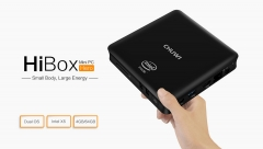 CHUWI HiBox Mini PC Android 5.1 + Window 10 Dual OS 2.4G / 5G WiFi BT 4.0 Black