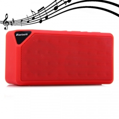 Multifunctional Mini Bluetooth Speaker Red One size