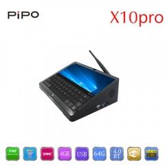 PIPO X10pro TV Box 10.8 inch IPS Tablet PC Windows 10 / Andriod 5.1 WiFi Bluetooth HDMI Black