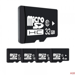 High speed Factory Bulk Cheap Prices Micro SD Card TF Memory Card+Adapter Free Gift black micro sd 16g