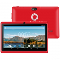 Artizlee 7inch Tablet ATL-16 Color Red ( Quad Core, HD 1024x600, 8GB, WIFI, Bluetooth, Double-CAM) ATL-16 Red