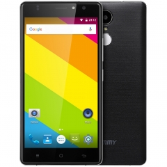 Timmy M20 PRO 5.5 inch Android 6.0 4G Phablet MT6737 Quad Core 1GB RAM 16GB ROM Fingerprint Scanner BLACK