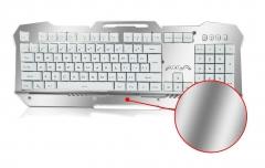 AULA Endless Waterproof USB Gaming Keyboard(Silver)