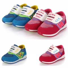 Fahison N letter Athletic Casual Shoes Baby Boy Sports Shoes Breathable Mesh Surface Girl Sneakers red 21