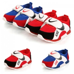 Fahison Nike Athletic Casual Board Shoes Baby Boy Sports Shoes Breathable Mesh Surface Girl Sneakers red 21
