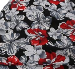 Hepburn sleeveless vintage stitching large flap skirt dress blue blue S