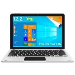 Teclast TBook 12 Pro Tablet PC Quad Core 12.2 inch Windows 10 Home + Android 5.1 4GB RAM 64GB ROM Silver White intel cherry trail