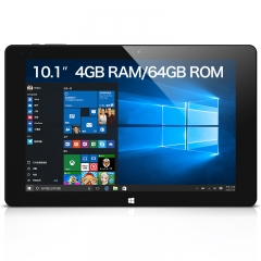"iwork10 Windows10 10.1"" 1920*1200 IPS ntel Atom x5 Wifi,Dual Camera 4GB+64GB Tablet PC Black + blue"